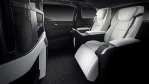 Lexus LM Luxury Minivan Car Review Interior