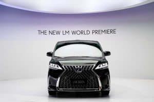 Lexus LM Luxury MPV Exterior