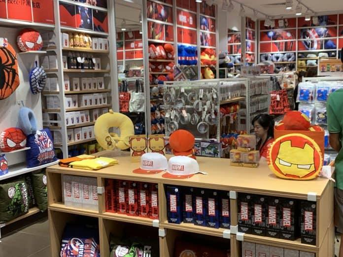 Miniso Singapore Launch Marvel X Miniso Merchandise